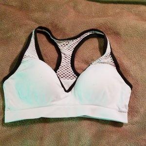 Victoria's Secret Pink sports bra white size S